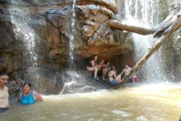 Chillin' Out in the Waterfall