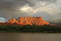 Beautiful Canyon Sunset