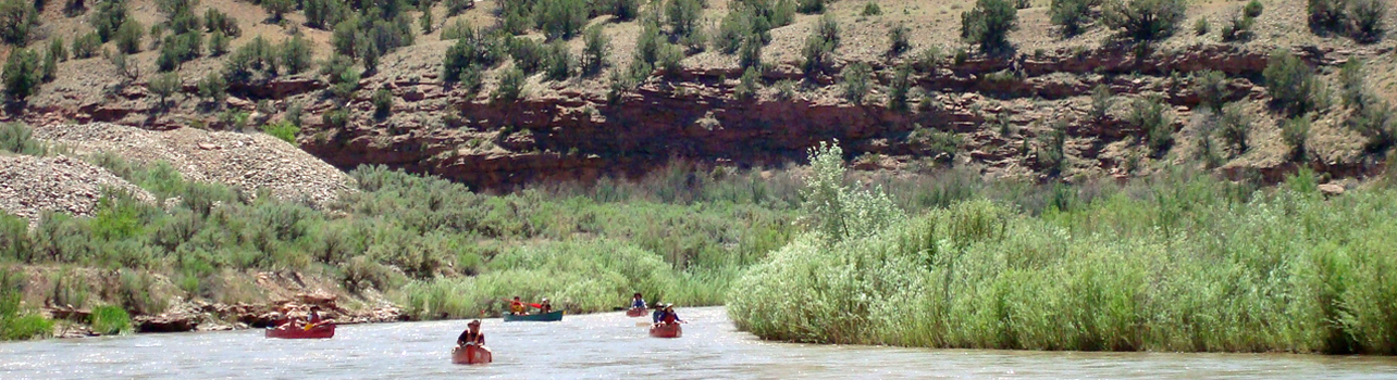 Dolores River Canoeing