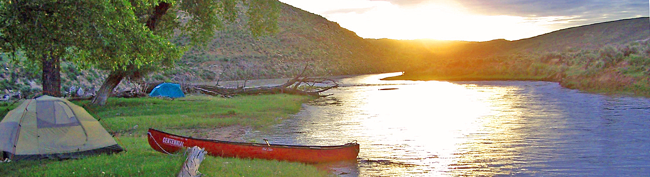 Sundown on the Yampa