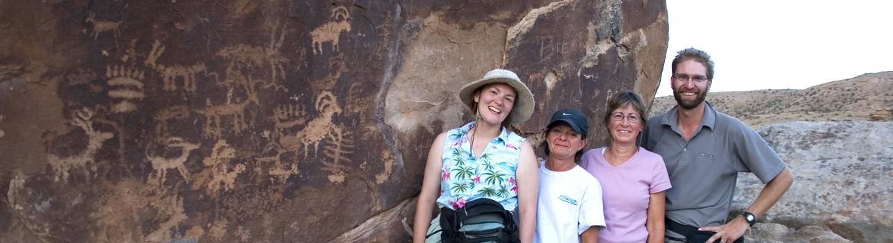 Petroglyphs on the Gunnison