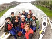 San Juan Islands, WA, Sea Kayaking: Eagles & Orcas