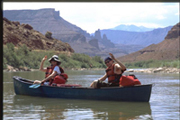 Colorado River to Moab Canoeing