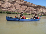 Colorado River Canoeing: Labor Day