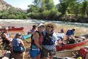 Yampa River Canoeing: CO School of Mines Ecology/Art--River to Desert. Open to Teachers and the Adult Public