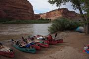 Colorado River Canoeing: July 4th Weekend