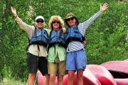 Gunnison River Canoeing: Women Renewal River Retreat
