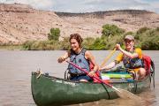 Gunnison River Canoeing: Roxy Oberding & Friends