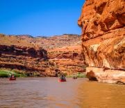 Gunnison River Canoeing: Janet Kowall's Private Trip